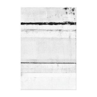 """""""Arte abstracto blanco y negro de la edad de Lienzo Envuelto Para Galerias"""