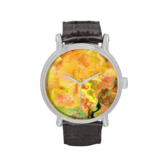 Arte abstracto brillante TPD Relojes