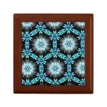 Arte abstracto caja de joyas