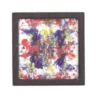 arte abstracto cajas de joyas de calidad