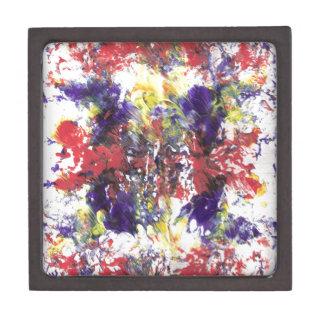 arte abstracto caja de regalo de calidad