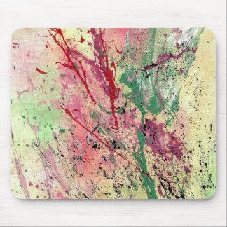 Arte abstracto - Champán Alfombrilla De Ratones