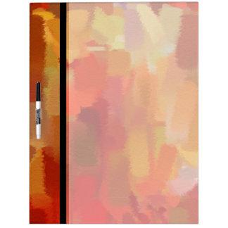 Arte abstracto colorido abstracto 9 de la pintura  tableros blancos