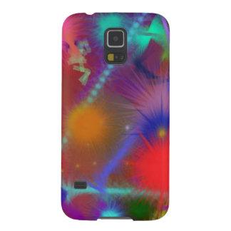 Arte abstracto colorido de la carta de Astro del c Carcasas Para Galaxy S5