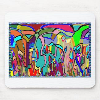 Arte abstracto colorido de los REGALOS del sorteo Mouse Pad