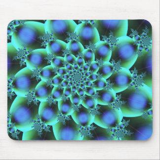 Arte abstracto colorido lindo de la estructura de alfombrillas de ratón
