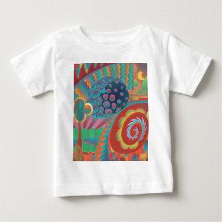 Arte abstracto - colorido playera