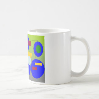 Arte abstracto - conclusión de la primavera taza clásica