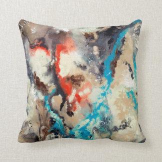 Arte abstracto - contra la corriente almohadas