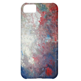 Arte abstracto creativo funda para iPhone 5C