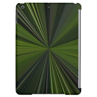 Arte abstracto de color verde oscuro