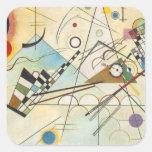 Arte abstracto de Kandinsky Colcomanias Cuadradass