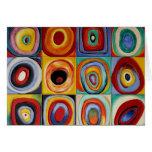 Arte abstracto de Kandinsky Felicitaciones