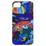 Arte abstracto de Kandinsky iPhone 5 Case-Mate Cárcasas