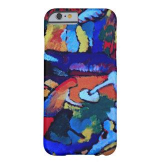 Arte abstracto de Kandinsky Funda De iPhone 6 Barely There