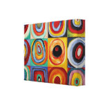 Arte abstracto de Kandinsky Impresión De Lienzo