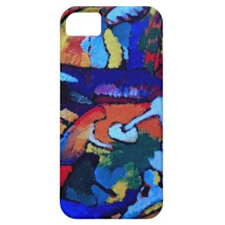 Arte abstracto de Kandinsky iPhone 5 Carcasa