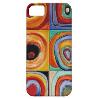 Arte abstracto de Kandinsky iPhone 5 Carcasas