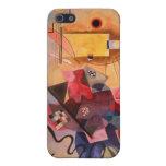 Arte abstracto de Kandinsky iPhone 5 Protectores