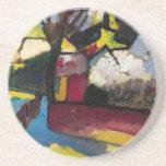 Arte abstracto de Kandinsky Posavasos Cerveza
