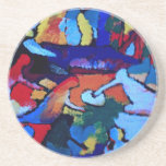 Arte abstracto de Kandinsky Posavasos Diseño