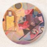 Arte abstracto de Kandinsky Posavasos Manualidades