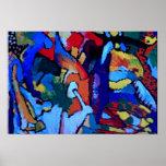 Arte abstracto de Kandinsky Poster
