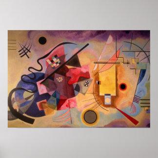 Arte abstracto de Kandinsky Póster