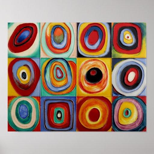 Arte abstracto de Kandinsky Posters