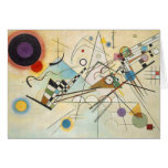 Arte abstracto de Kandinsky Tarjetas
