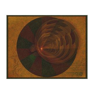 Arte abstracto de la canción del otoño impresion de lienzo
