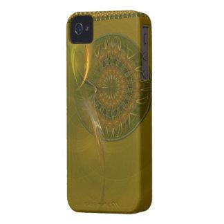 Arte abstracto de la diosa de la cosecha de Tialti iPhone 4 Case-Mate Carcasas