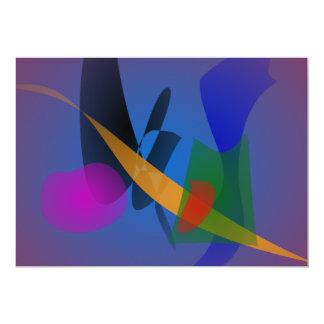 Arte abstracto de la emoción anuncio