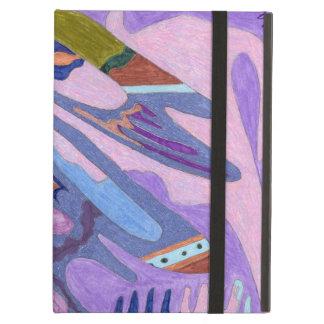 """Arte abstracto de la """"lavanda"""""""