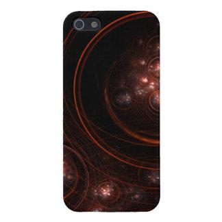 Arte abstracto de la luz de las estrellas iPhone 5 fundas