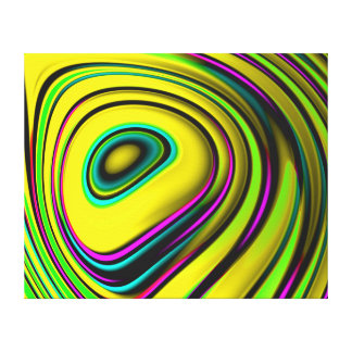 Arte abstracto de la pared - el gran ojo