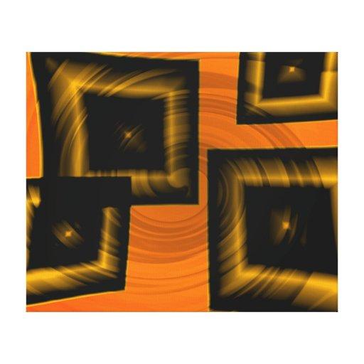 Arte abstracto de la pared impresiones en lona estiradas