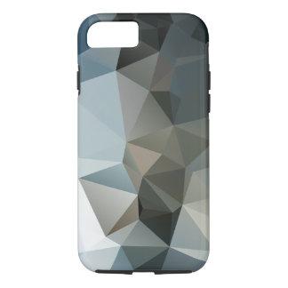 Arte abstracto de la pirámide de los azules y de funda iPhone 7