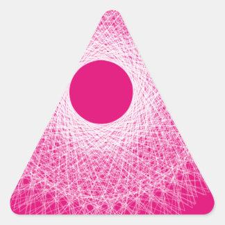 arte abstracto de la psique rosada etiquetas