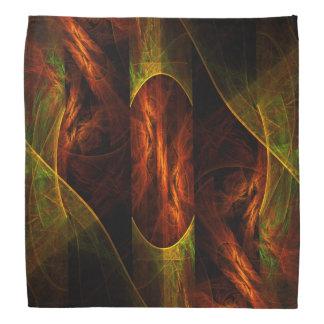 Arte abstracto de la selva de la mística bandanas