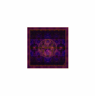 Arte abstracto de la tapicería fucsia del dragón adorno fotoescultura