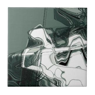 Arte abstracto de las formaciones de la tierra azulejo cerámica