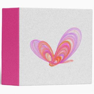 Arte abstracto de las mariposas rosadas del verano