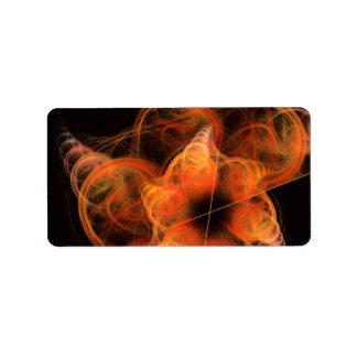 Arte abstracto de Lightworks Etiqueta De Dirección