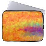 Arte abstracto de los colores multi que pinta 3 fundas portátiles