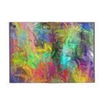Arte abstracto de los colores multi que pinta 8 iPad mini protector