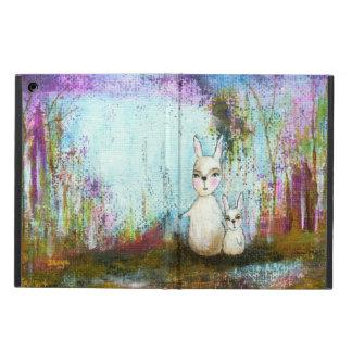 Arte abstracto de los conejos de la escuela, de la