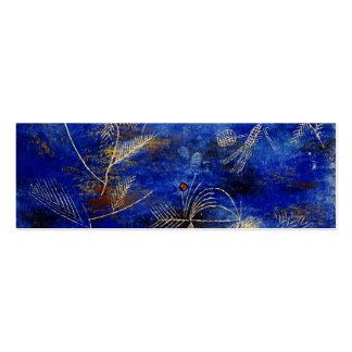 Arte abstracto de los cuentos de hadas de Paul Tarjetas De Visita Mini