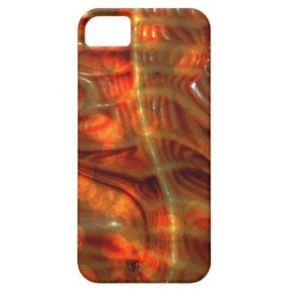Arte abstracto de los modelos prehistóricos iPhone 5 fundas