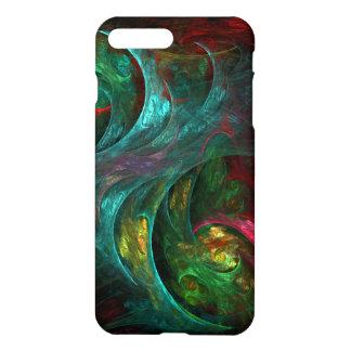 Arte abstracto de Nova de la génesis brillante Funda Para iPhone 7 Plus
